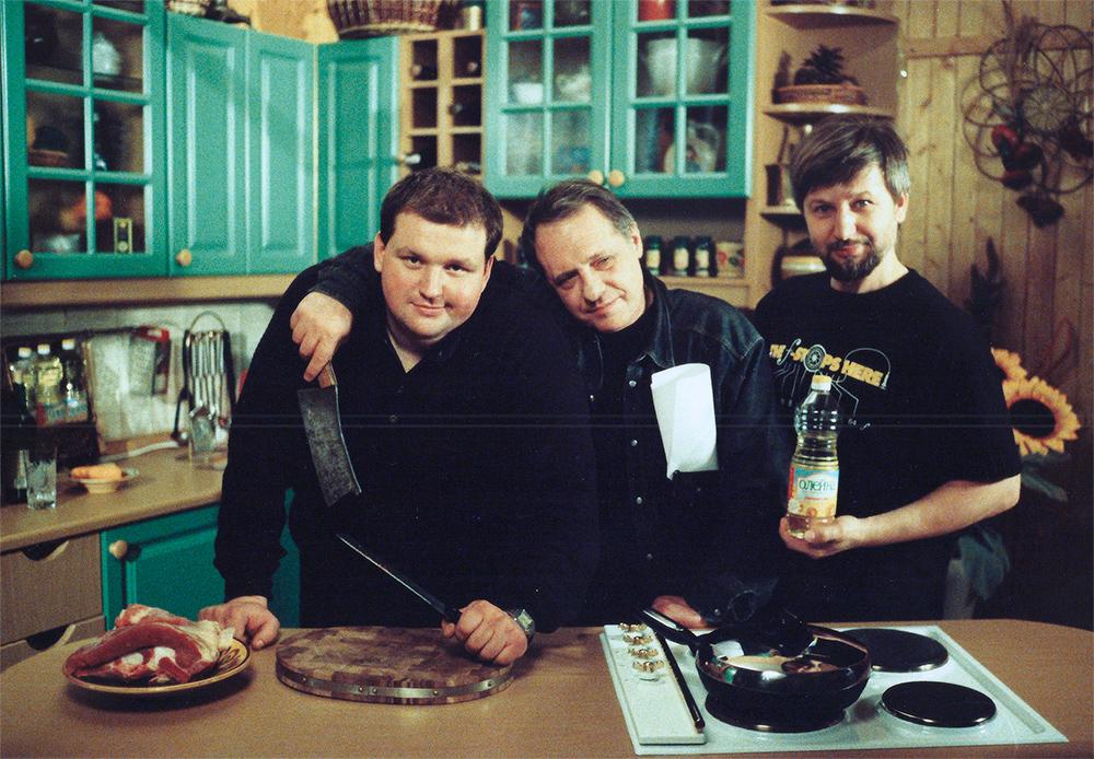 Сергей Олейник, передача Вкусно с Борисом Бурдой