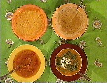 Австралийский тыквенный суп-пюре от Бориса Бурды