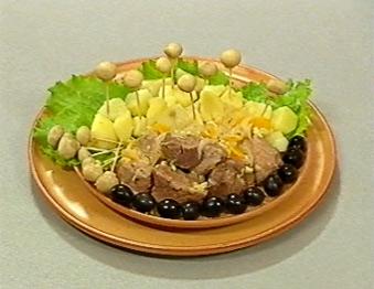 Блиц-рецепт от Бориса Бурды - «Мясо в шампанском»
