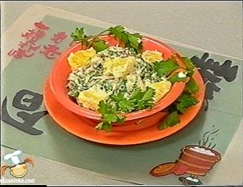 Блиц-рецепт от Бориса Бурды - Салат «Апельсин под майонезом»